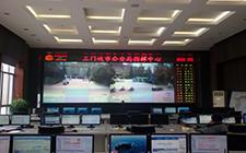 三门峡公安局指挥中心67寸DLP拼接墙