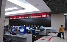 辽河石化中央控制室液晶拼接屏案例